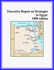 Cover of: Executive Report on Strategies in Egypt