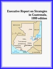 Cover of: Executive Report on Strategies in Guatemala