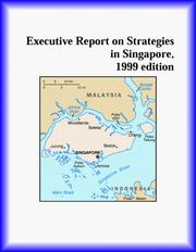 Cover of: Executive Report on Strategies in Singapore