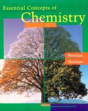 Cover of: Essential concepts of chemistry | Sharon Sherman