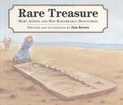Cover of: Rare treasure: Mary Anning and her remarkable discoveries