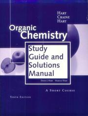 Cover of: Organic Chemistry | David J. Hart