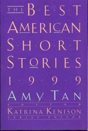 Cover of: The Best American short stories, 1999
