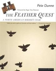 Cover of: The feather quest: a North American birder's year