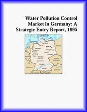 Cover of: Water Pollution Control Market in Germany