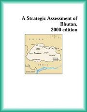 Cover of: A Strategic Assessment of Bhutan, 2000 edition (Strategic Planning Series) | The Bhutan Research Group