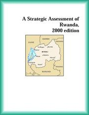 Cover of: A Strategic Assessment of Rwanda, 2000 edition (Strategic Planning Series) | The Rwanda Research Group