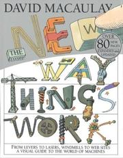 Cover of: The new way things work | David Macaulay
