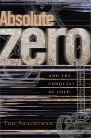 Cover of: Absolute zero and the conquest of cold