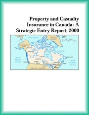 Cover of: Property and Casualty Insurance in Canada | Research Group