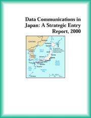 Cover of: Data Communications in Japan | Telecommunications Research Group