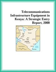 Cover of: Telecommunications Infrastructure Equipment in Kenya | Research Group