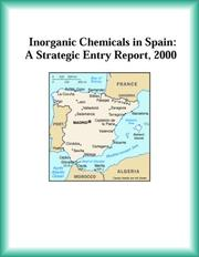 Cover of: Inorganic Chemicals in Spain | Chemicals Research Group