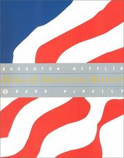Cover of: Rand McNally Atlas of American History 99 | Rand McNally