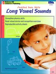 Cover of: Long Vowel Sounds (Modified Basic Skills)