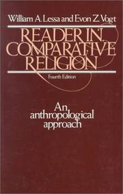 Reader in comparative religion by William Armand Lessa