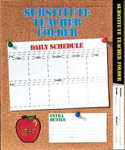 Cover of: Elementary Substitute Teacher Folder | School Specialty Publishing