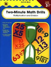 Cover of: Two-Minute Math Drills, Grades 3 and up
