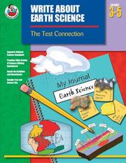 Cover of: Write About Earth Science, Grades 3-5