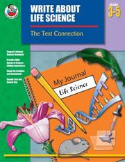 Cover of: Write About Life Science, Grades 3-5