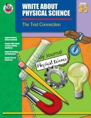 Cover of: Write About Physical Science, Grades 3-5