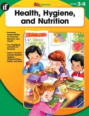 Cover of: Health, Hygiene, and Nutrition, Grades 3-4 (100+)