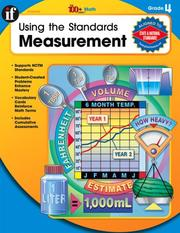 Cover of: Using the Standards - Measurement, Grade 4 (100 +)