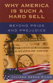 Cover of: Why America Is Such a Hard Sell | Juliana Pilon