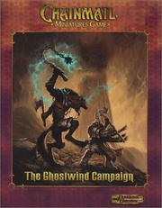 Cover of: The Ghostwind Campaign: Chainmail Miniatures Game