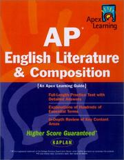 Cover of: AP English Literature & Composition