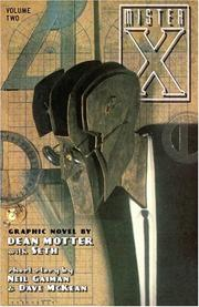 Cover of: Mr. X Volume 2: The Secret Life of Mr. X