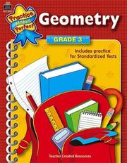 Cover of: Geometry Grade 3 (Practice Makes Perfect) | TEACHER CREATED RESOURCES