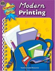 Cover of: Modern Printing (Practice Makes Perfect)