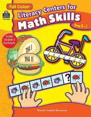Cover of: Literacy Centers for Math Skills | TEACHER CREATED RESOURCES