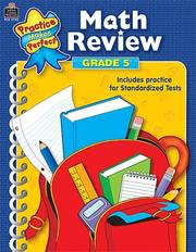 Cover of: Math Review Grade 5 (Practice Makes Perfect) | MARY ROSENBERG