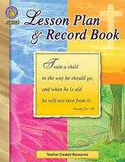 Cover of: Christian Lesson Plan & Record Book | TEACHER CREATED RESOURCES