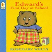 Cover of: Edward's First Day at School (Edward the Unready)
