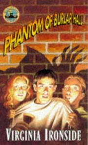 Cover of: Phantom of Burlap Hall (Burlap Hall Mysteries)