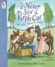 Cover of: I Never Saw a Purple Cow