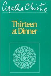 Cover of: Thirteen at dinner