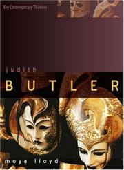 Cover of: Judith Butler