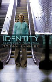 Cover of: Identity