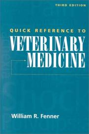 Quick Reference to Veterinary Medicine