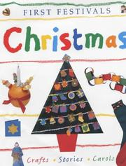 Cover of: Christmas (First Festivals)