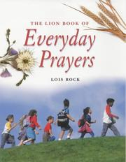 Cover of: The Lion Book of Everyday Prayers for Children (Prayers)