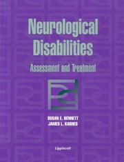 Cover of: Neurological disabilities | Susan E. Bennett