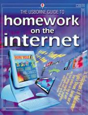 Cover of: The Usborne Guide to Homework on the Internet