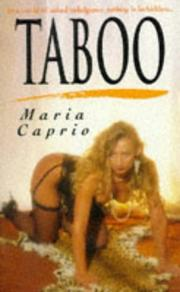 Cover of: Taboo | M. Caprio