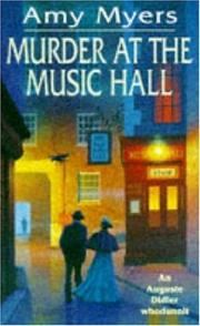Cover of: Murder at the Music Hall (Auguste Didier Whodunnit)