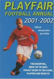 Cover of: Playfair Football Annual 2001-02 (Annuals) | Jack Rollin